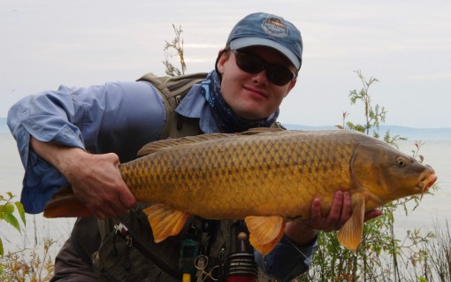 Carp flies and a nice carp.