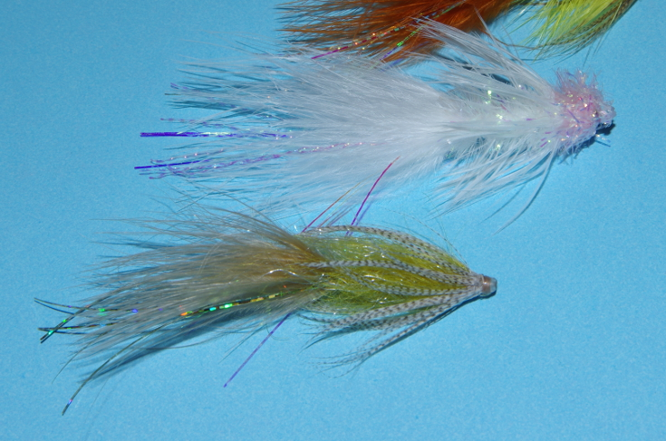 Woolly Bugger tube fly.