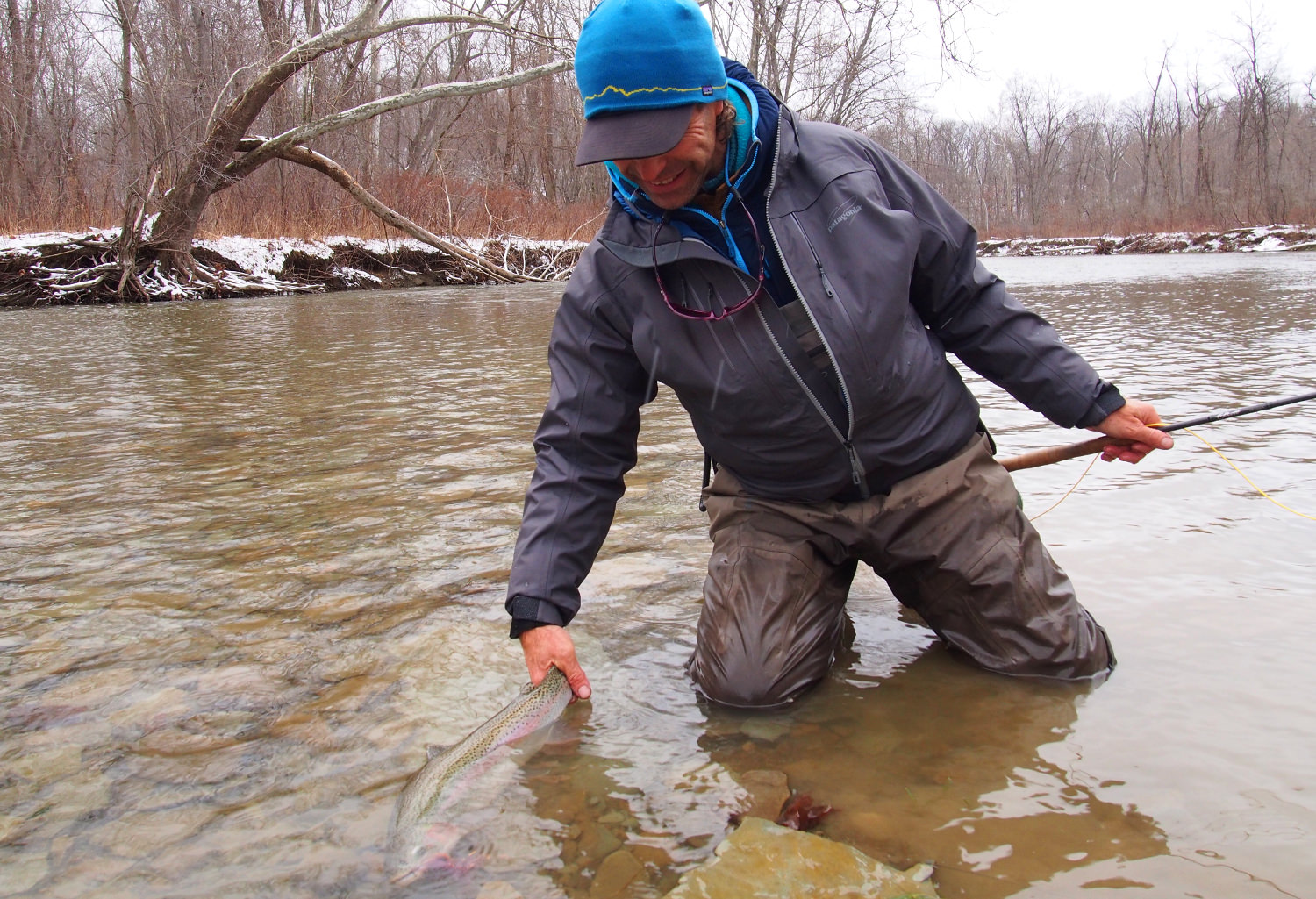 Swinging great lakes steelhead and beyond toflyfish for Fly fishing podcast