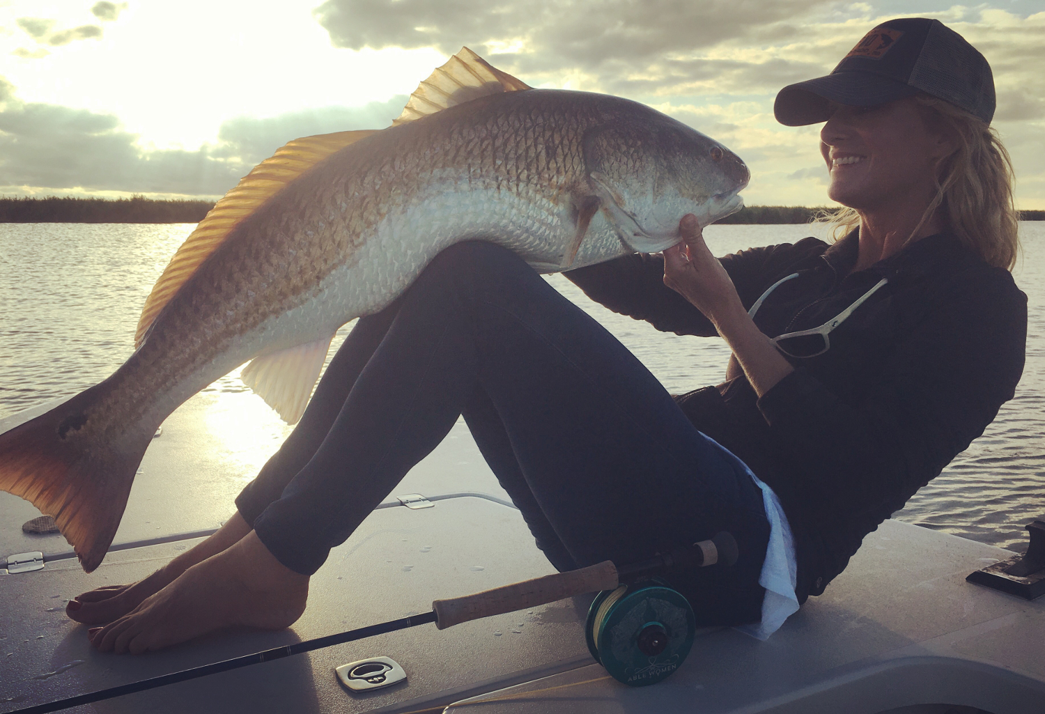 Bull redfish on the fly planning a trip to louisiana with for Fly fishing for redfish