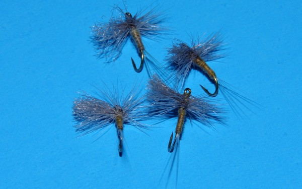 Blue Winged Olive cripple fly pattern.
