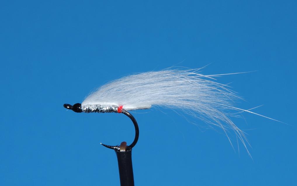 White Death steelhead fly pattern.
