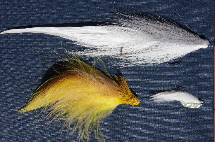 Streamer fly size.