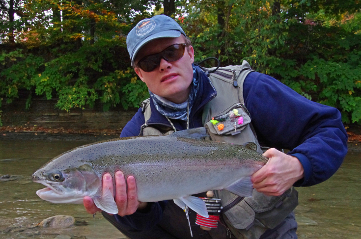 Low water steelhead.